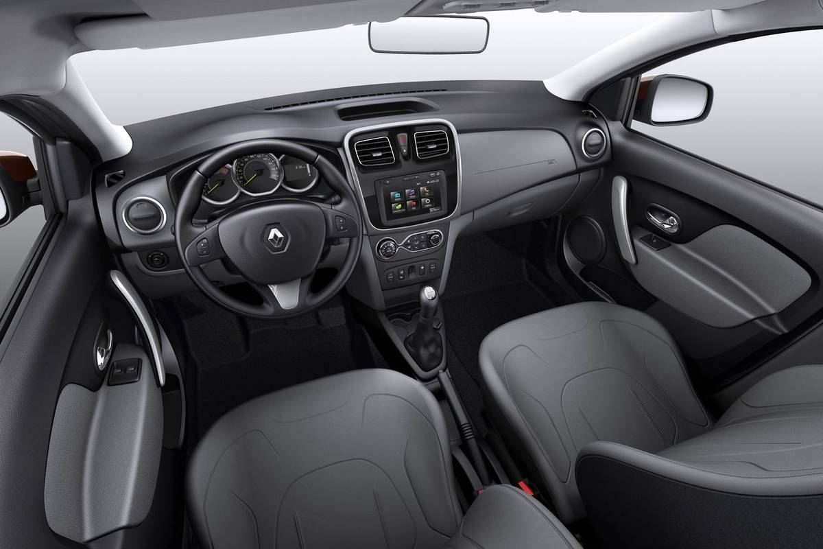 2015 Renault Logan Interior